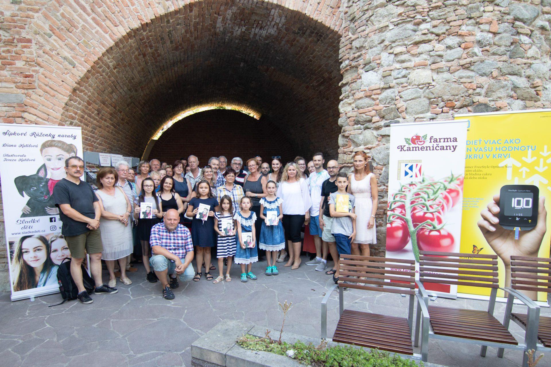Autorské čítanie Šípkové Růženky naruby v Bratislave