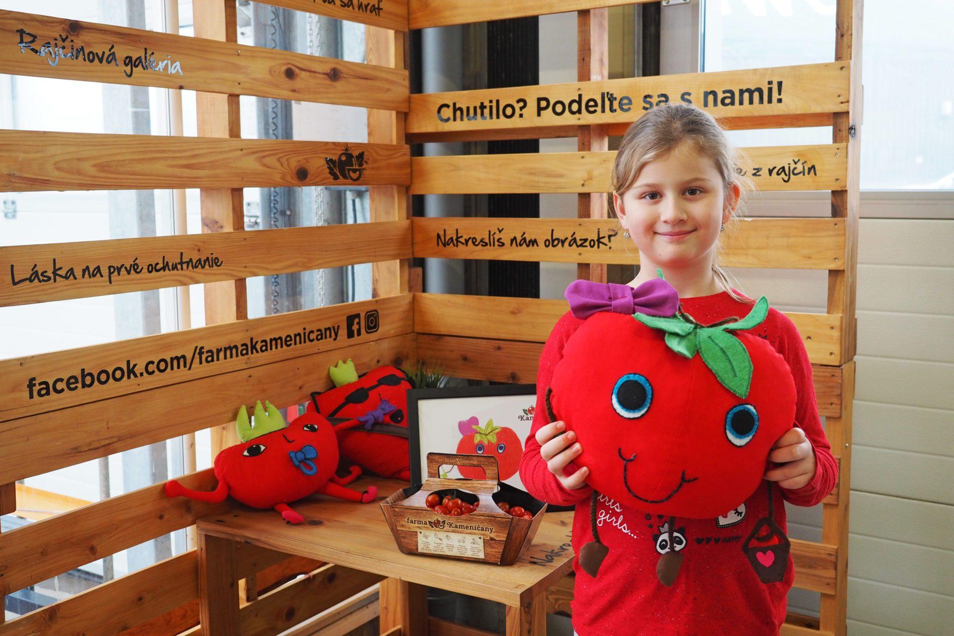 Ďalšia paradajková bábika je na svete