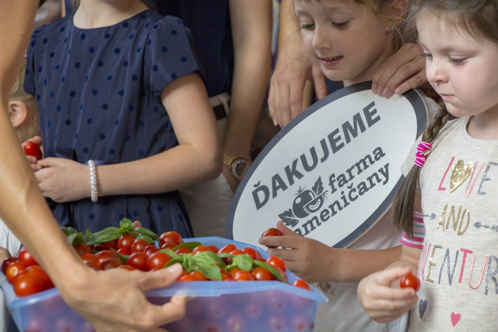 Farma Kameničany sa zapojila do Týždňa dobrovoľníctva